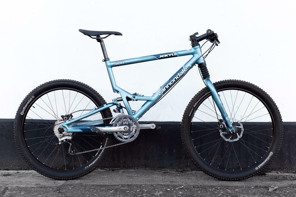 Full Suspension Mountain Bike Cannondale Large In Plaistow London
