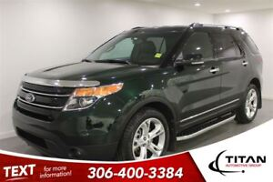 2013 Ford Explorer Limited|Leather|Cam|AWD|3rd Row