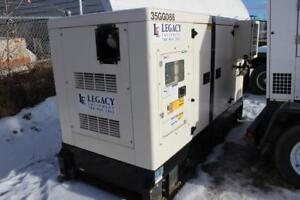 2011 POWER RINK GMS55PGS-US 50 KW TRI-FUEL GENERATOR - 35GG#88
