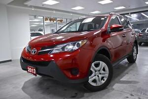 2013 Toyota RAV4 LE, AWD, PWR GROUP, ONE OWNER, REAR BACK UP CAM