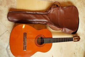 Acoustic, steel-stringed guitar, good quality