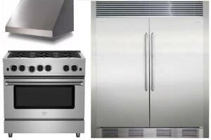 Professional KITCHEN APPLIANCE PACKAGE Clearance Sale - In Store Only - BEST Offers!