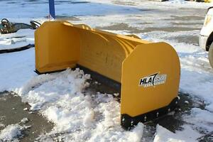 8ft Snow Pusher Skid-steer Attachment