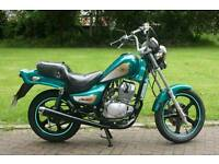 Hyosung cruise 2 125cc for sale