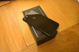 iPhone 7 Jet Black Unlocked 128GB Immaculate Condition
