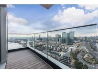 LUXURY 34TH FLOOR 1 BED - AMAZING VIEWS - Charrington Tower E14 CANARY WHARF DOCKLANDS LIMEHOUSE