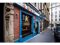 Beer enthusiast bar-tenders/ waiting on staff and MIT position wanted for city centre Biere Cafe
