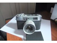 For sale: an old Yashica Camera. It's the Minister III Rangefinder