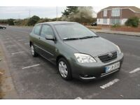 Toyota Corolla Left Hand Drive - Manual - Diesel
