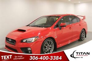 2015 Subaru WRX STi AWD|Sport Tech|Red|PST Paid