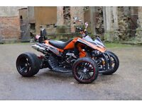 NEW 2017 250CC ORANGE ROAD LEGAL QUAD BIKE ASSEMBLED IN UK 66 PLATE OUT NOW!! FREE NEXT DAY DELIVERY
