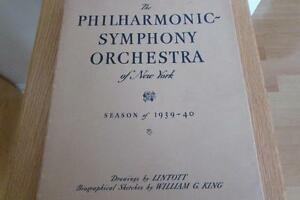 The Philharmonic-Symphony Orchestra of New York 1939-40