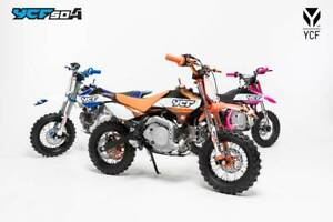 YCF RANGE OF OFF-ROAD MOTORCYCLES Victoria Park Victoria Park Area Preview