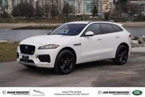 2017 Jaguar F-Pace S AWD *Certified Pre-Owned!