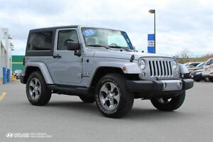 2016 Jeep Wrangler Sahara! 6 SPEED! NAVIGATION! $226 BI-WEEKLY!