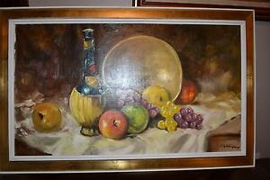 """28""""X16"""" PAINTING OIL ON CANVAS SIGNED FROM Wallack Galleries. Gatineau Ottawa / Gatineau Area image 1"""