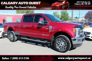 2017 Ford F-350 Lariat Diesel CREW-CAB/SHORT-BOX/FULLY EQUIPPED