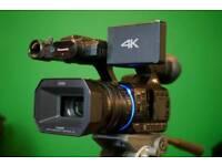 Panasonic HC-X1000 Professional 4K 60fps 200mbps 20x Leica Camcorder