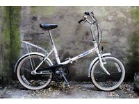 SOVEREIGN. Vintage shopper folding foldable bike, 3 speed