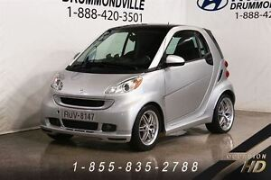 2009 smart fortwo BRABUS + RARE + MAGS 17 + TOIT PANO + CUIR + W