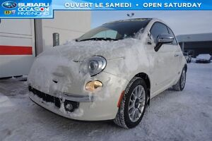 2012 Fiat 500C Lounge CUIR+CONVERTIBLE