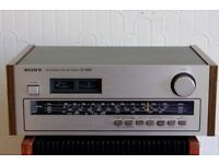 Sony, ST-2950F, vintage, stereo tuner with FM, MW,SW,LW