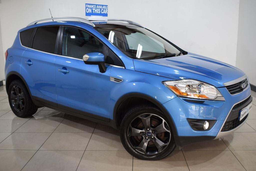 ford kuga 2 0 titanium tdci awd 5d 134 bhp blue 2009 in dukinfield manchester gumtree. Black Bedroom Furniture Sets. Home Design Ideas