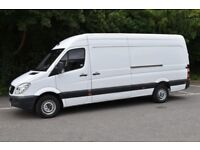 Man with van delivery service van hire Furniture mover local short notice 24/7 cheap low price