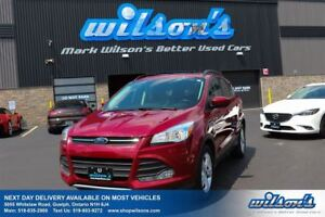 2015 Ford Escape SE 4WD! LEATHER! PANORAMIC SUNROOF! POWER SEAT!