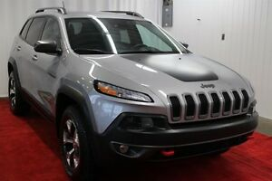 2014 Jeep Cherokee Trailhawk, 4X4, GPS, GR. TECH, GR. REMORQUAGE