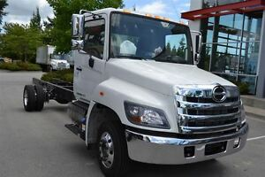 2017 Hino 258 Cab  Chassis. Alcoa wheels. GPS and 3 year ...
