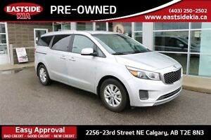 2017 Kia Sedona LX 8 SEATER ANDROID AUTO ALLOYS NICELY EQUIPED