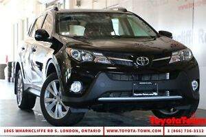 2015 Toyota RAV4 LOADED SINGLE OWNER LIMITED LEATHER & NAVIGATIO London Ontario image 1