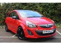 Vauxhall Corsa Limited Edition 3dr **2 OWNERS+FINANCE AVALIBLE** (red) 2012
