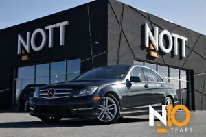 2013 Mercedes-Benz C-Class C300 4Matic, AWD, Moonroof, 1 Owner,