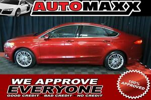 2014 Ford Fusion SE/LEATHER/ROOF/NAV $145 Bi-Weekly! APPLY NOW!