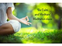 MONDAY MEDITATION classes, Altrincham. Be calm, relax and meditate. Just £4! Lunch & Eve classes!