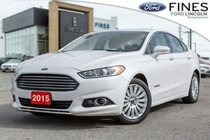2015 Ford Fusion SE HYBRID - LUXURY PKG/LEATHER!