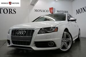 2012 Audi S4 3.0L AWD TIPTRONIC NAV SUN 333 HP LEATHER