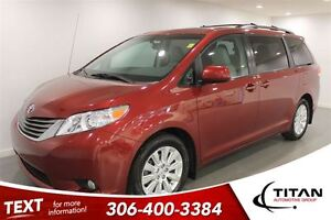 2014 Toyota Sienna XLE|7 Pass|DVD|AWD|Heated Leather