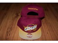 Burgundy Cleveland Cavaliers Mitchell & Ness SnapBack