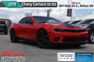 2015 Chevrolet Camaro SS 1SS/426hp/RS PACK/20s/PRFRMNC EXHST/6SP
