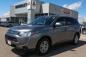 2014 Mitsubishi Outlander ES |Heated Seats| Bluetooth| Auto Clim
