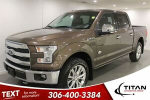 2015 Ford F-150 Supercrew Kingranch|Nav|Leather|PST Paid