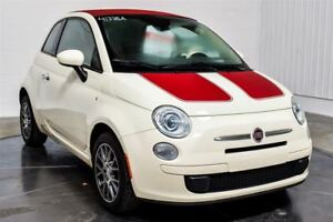 2013 Fiat 500 CONVERTIBLE MAGS A/C