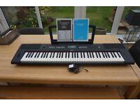 Yamaha NPV60 Piaggero Piano Keyboard with screw in stand