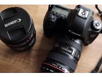 Canon 6D, 17-40mm and 24-70mm (will split)