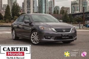 2014 Honda Accord TOURING + LOCAL + CERTIFIED!!