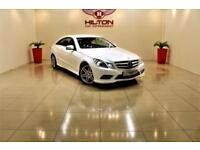 MERCEDES-BENZ E CLASS 2.1 E220 CDI BLUEEFFICIENCY SPORT 2d AUTO 170 BHP (white) 2012