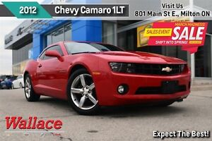 2012 Chevrolet Camaro 1LT/ACCIDENT-FREE/REMOTE START/323HP V6/19